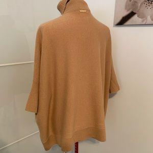 MICHAEL Michael Kors Sweaters - Michael Kors cashmere poncho sweater turtleneck